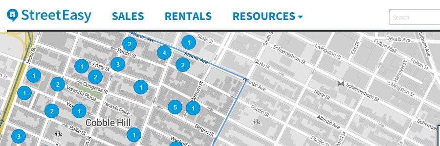 StreetEasy apartment rentals website