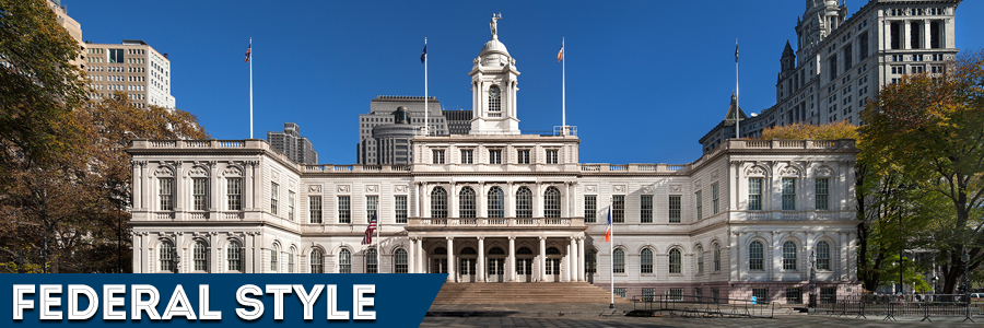 City Hall -  Federal style architecture