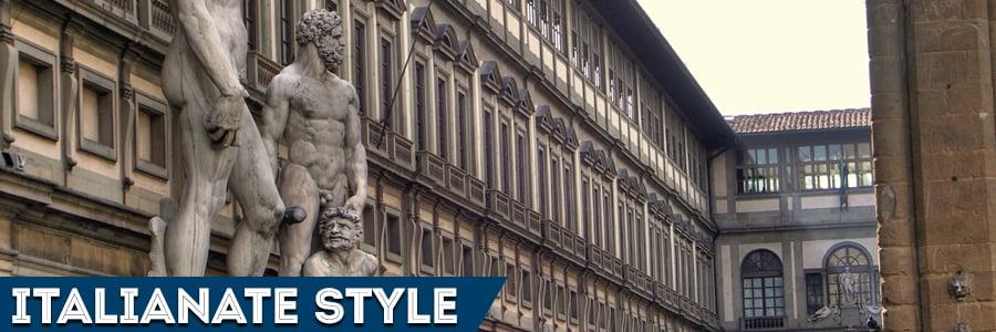 Italianate style - Italian archietcture