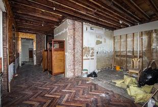 Room in desperate need of repair