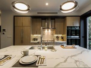 BedStuy Renovation Marble Kitchen