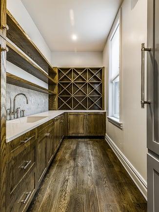 Harlem Renovated Wood Wine Cellar