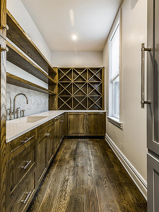 Harlem Renovated Wood Wine Cellar