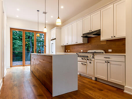 Brooklyn Renovated Kitchen with Wood Details