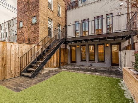 Brooklyn Brownstone Renovation Backyard