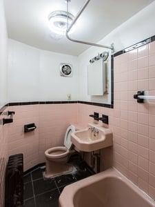 Brooklyn Brownstone Renovation Original Bath