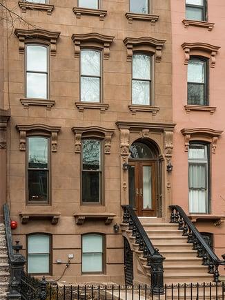 Brooklyn Brownstone Facade After