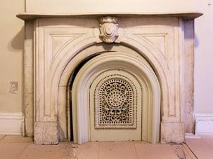Brooklyn Brownstone Original Fireplace