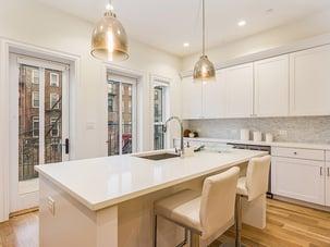 Brooklyn Brownstone Renovated Kitchen