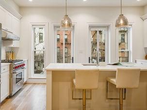Brooklyn Brownstone Renovation Kitchen Windows