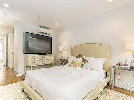 Brooklyn Brownstone Renovation Master Bedroom