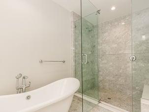 Brooklyn Brownstone Renovation Master Shower