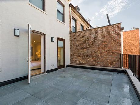 Brooklyn Brownstone Renovation Master Terrace