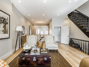 Brooklyn Brownstone Renovation Parlor After
