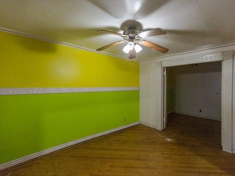 Brooklyn Brownstone Original Living Room