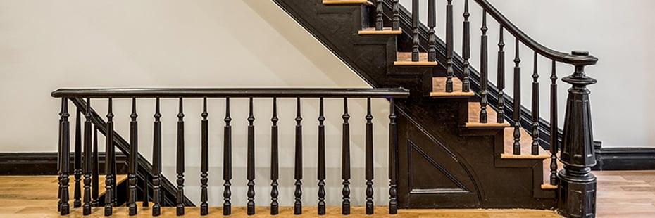 Brooklyn Brownstone Restored Staircase