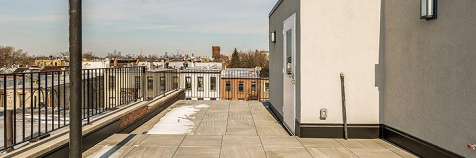 Brooklyn Brownstone Renovation Roof Deck