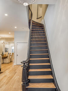 Brooklyn Brownstone Renovaton Staircase After