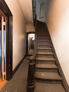 Brooklyn Brownstone Renovation Staircase Before