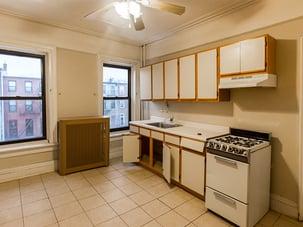 Brooklyn Brownstone Kitchen Before