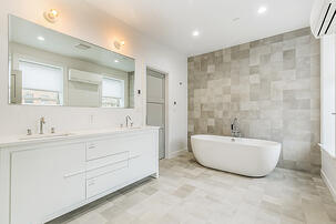 Boerum Hill Townhouse Master Bathroom Soaking Tub