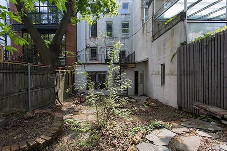 Boerum Hill Townhouse Renovation Backyard After
