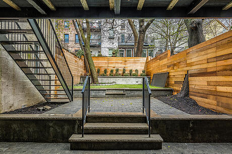 Boerum Hill Townhouse Renovation Backyard Patio