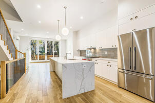 Boerum Hill Townhouse Renovation Kitchen