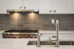 Boerum Hill Townhouse Renovation Kitchen Backsplash