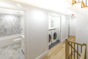 Boerum Hill Townhouse Renovation Laundry Area