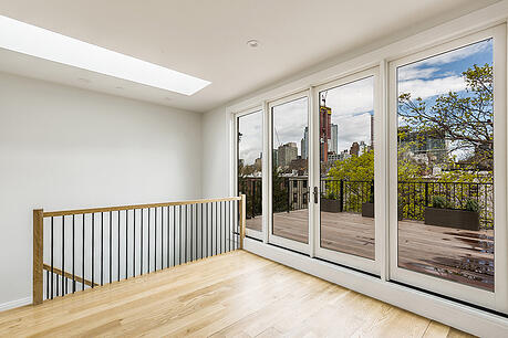 Boerum Hill Townhouse Renovation Penthouse Terrace