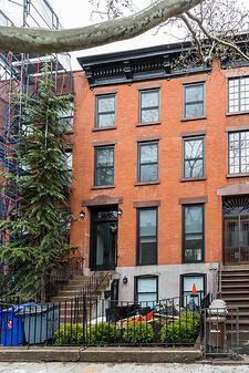 Boerum Hill Townhouse Renovation Restored Facade After