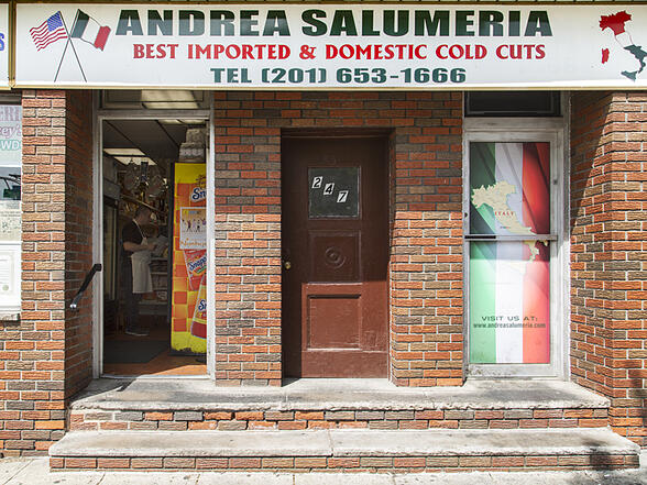 Andrea Salumeria Jersey City Heights Storefront on Central Avenue