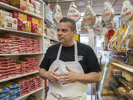 Andrea Salumeria Jersey City Heights Owner Pete Soriano