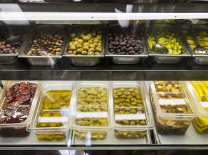 Andrea Salumeria Jersey City Heights Italian Deli Olives