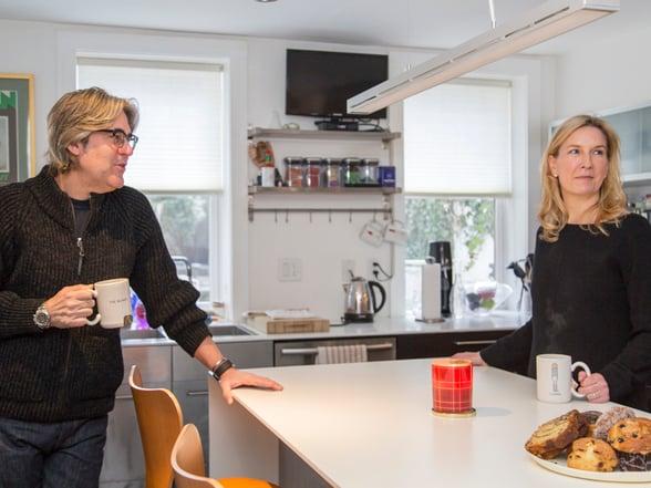 Carin and Bill kitchen shot