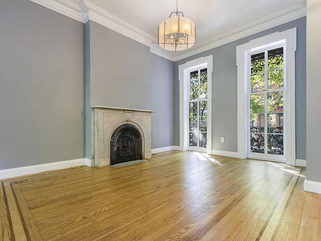Jersey Ave parlor floor 2