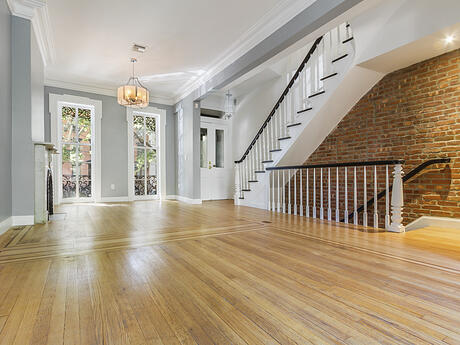 Jersey Ave parlor floor