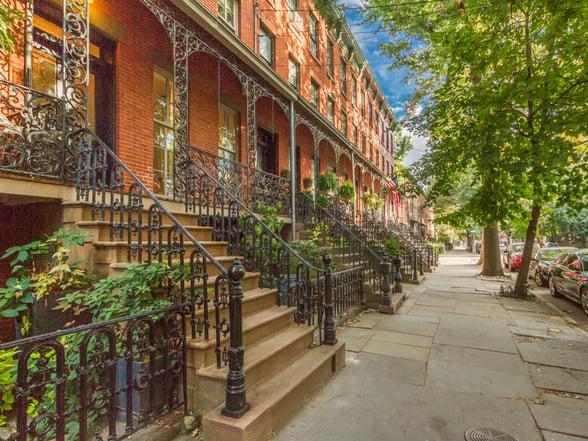 Jersey Avenue Facade