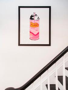 Peptol Bismol painting