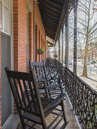 Jersey Avenue Porch