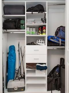 Hobby closet