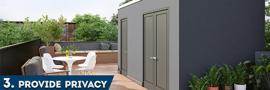 3. Provide Privacy