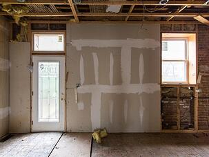 exposed walls