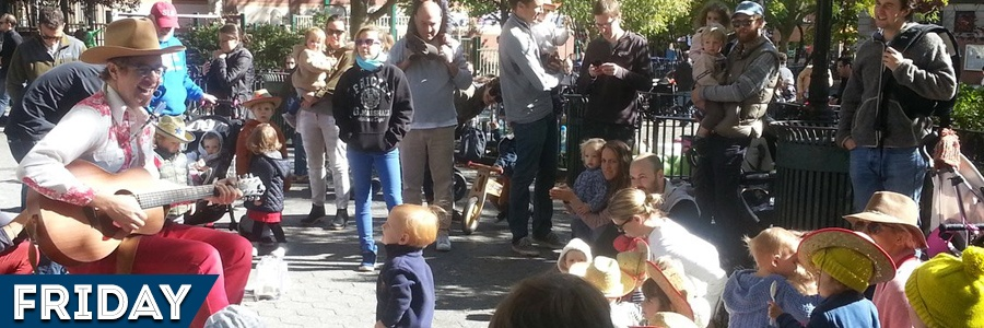 Friday: Singalong in Cobble Hill Park