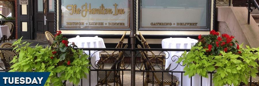 Tuesday: Lobster Shindig at Hamilton Inn