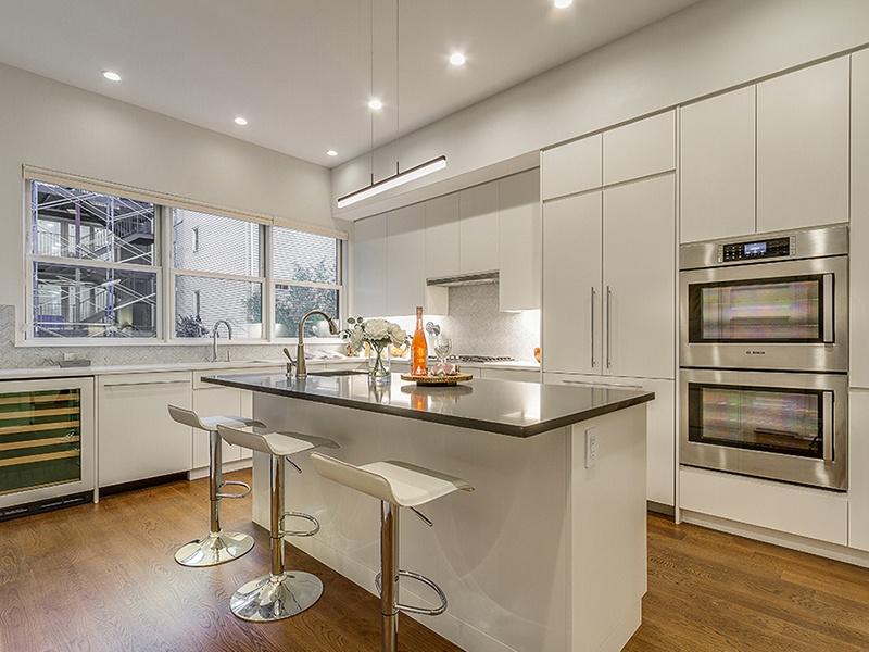 sleek cabinetry