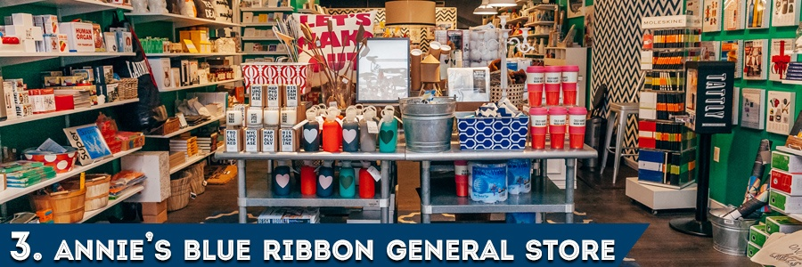 3. Annie's Blue Ribbon General Store