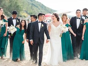 Chris Narine and Marybeth Wedding Day