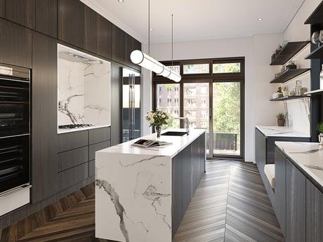 Hudson Square kitchen renderings